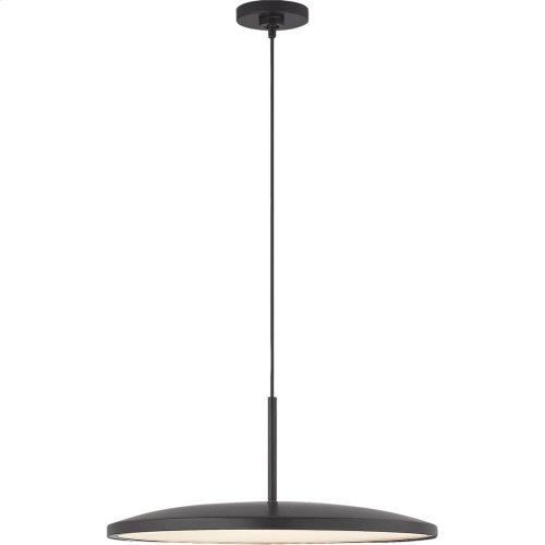 Visual Comfort PB5000MBK Peter Bristol Dot LED 14 inch Matte Black Pendant Ceiling Light