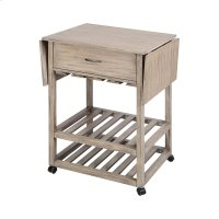 Tristan Grey Twilight Contemporary Mobile Serving Cart Product Image