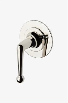 Dash Two Way Pressure Balance Diverter Valve Trim with Roman Numerals and Metal Lever Handle STYLE: DS2P10