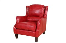 Garnett Red Leather Accent Chair, ACL516