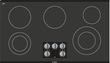 "500 Series 36"" Electric Cooktop 500 Series - Black Frameless NEM5666UC"