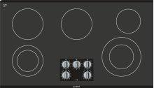 "500 Series 36"" Electric Cooktop 500 Series - Black Frameless NEM5666UC"