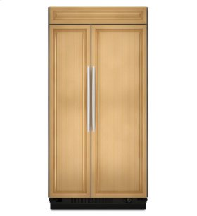 20.9 Cu. Ft. 36-Inch Width Built-In Side-by-Side Refrigerator, Overlay Panel-Ready - Panel Ready