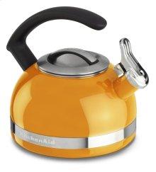 2.0-Quart Stove Top Kettle with C Handle - Mandarin Orange