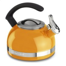 1.9 L Kettle with C Handle and Trim Band - Mandarin Orange