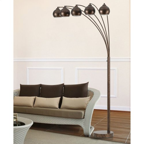 60Wx5 Metal Arc FL LP W/Metal Shade