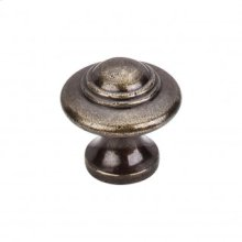 Ascot Knob 1 1/4 Inch - German Bronze