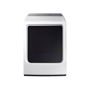 7.4 cu. ft. Electric Dryer with Integrated Touch Controls in White -