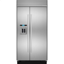 """48""""(w) Built-In Side-By-Side Refrigerator with Dispenser"""