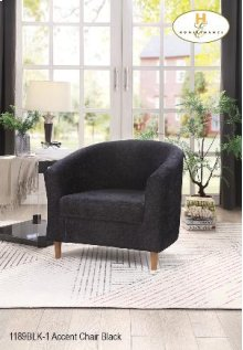 Accent Chair Black