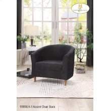 Accent Chair Black