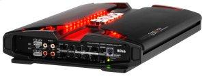 "Phantom 2200W 4 Channel Full Range, Class A/B Amplifier Dimensions 15.5""L 10.31""W 2.25""H"