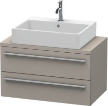 X-large Vanity Unit For Console Compact, Terra (decor)