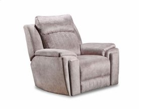 Leather Wall Hugger Recliner w/ Hidden Cupholders (available in Fabric)