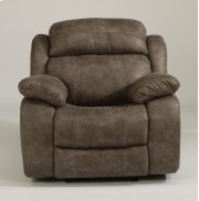 Como Fabric Gliding Recliner Product Image