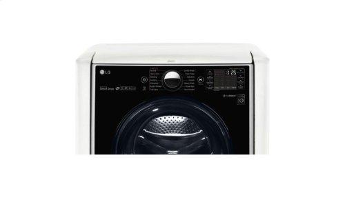 9.0 cu. ft. Large Smart wi-fi Enabled Electric Dryer w/ TurboSteam