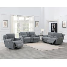 "Ezra Recliner Console Loveseat Pwr/Pwr 81""x41""x40"""