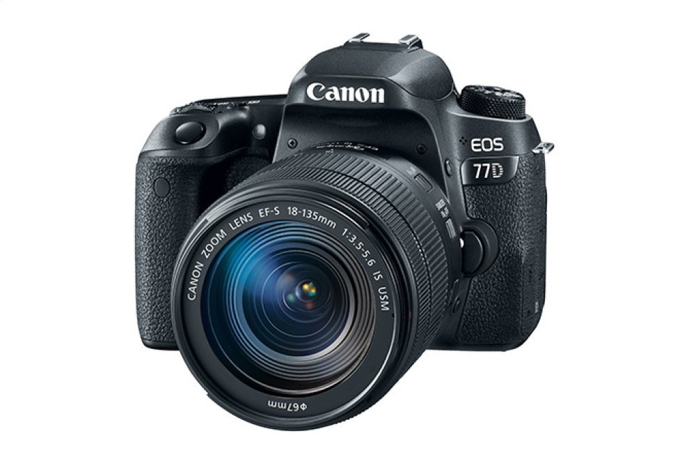 Canon EOS 77D EF-S 18-135mm f/3.5-5.6 IS USM Lens Kit EOS Digital SLR