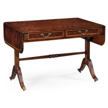 Regency Mahogany Folding Library Table