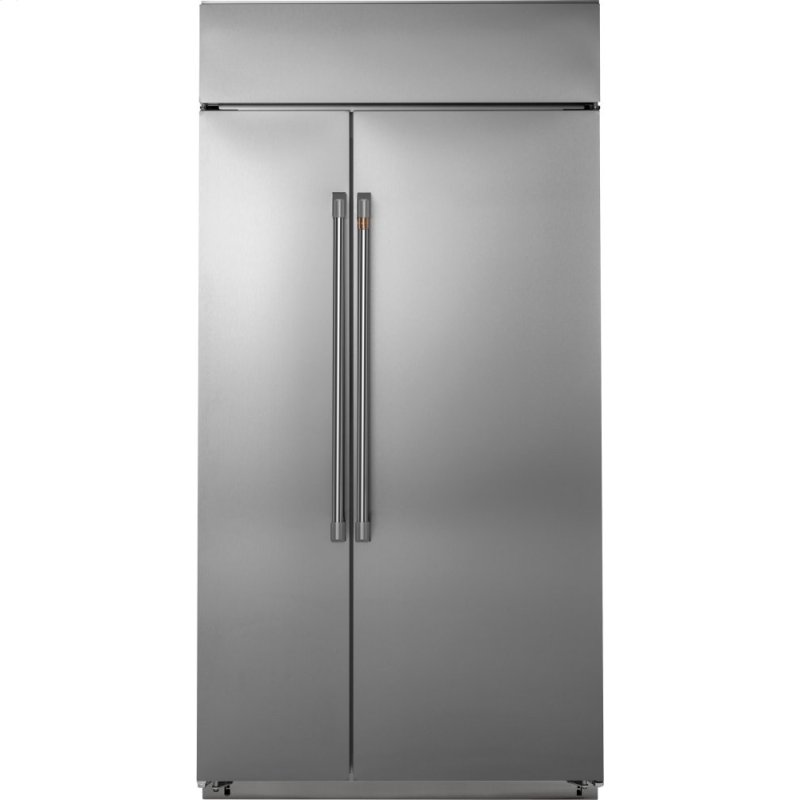 "48"" Smart Built-In Side-by-Side Refrigerator"