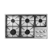 "Heritage 36"" Professional Gas Cooktop, Natural Gas"