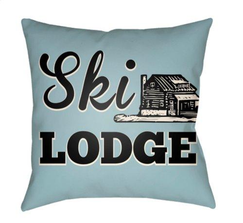 "Lodge Cabin LGCB-2042 18"" x 18"""