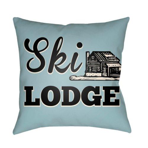 "Lodge Cabin LGCB-2042 22"" x 22"""