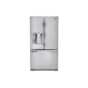 24 cu. ft. French Door Counter-Depth Refrigerator - STAINLESS STEEL
