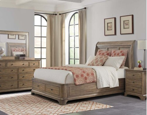 Gunnison Queen Sleigh Bed
