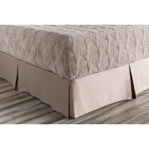 "Griffin GRF-1002 72"" x 84"" x 15"" CA King Bed Skirt"