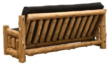 Futon with Mattress - Natural Cedar