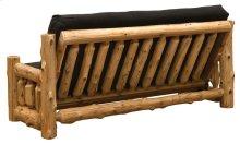 Futon with Mattress Natural Cedar