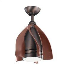 "Terna LED 15"" Fan Oil Brushed Bronze"