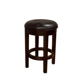 24 Seat Height Swivel Stool-Brown
