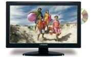 "Polaroid 22"" LCD TV w/DVD Combo - Black Product Image"