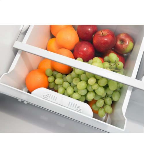 Amana® 30-inch Wide Top-Freezer Refrigerator with Glass Shelves - 18 cu. ft.