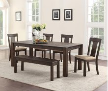 Dining Table and Two Side Chairs