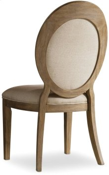 Corsica Oval Back Side Chair