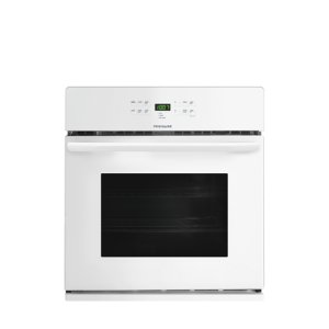 30'' Single Electric Wall Oven - WHITE