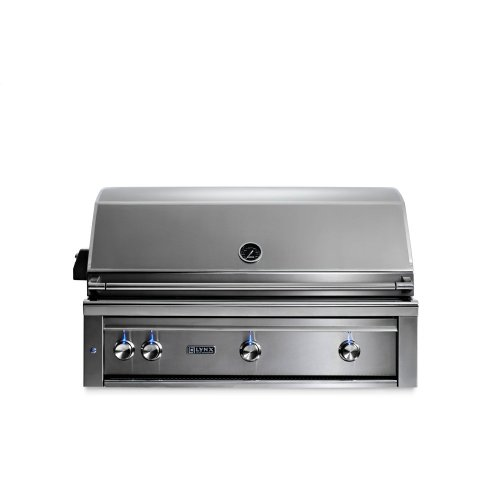 "42"" Lynx Professional All Trident Built In Grill Rotisserie, NG"