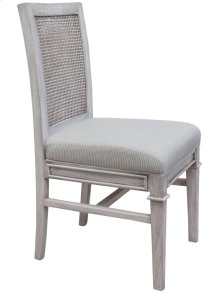 Side Chair, Available in Distressed White or Distressed Grey Finish.