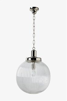 Aurora Ceiling Mounted Large Pendant with Glass Shade STYLE: AALT01