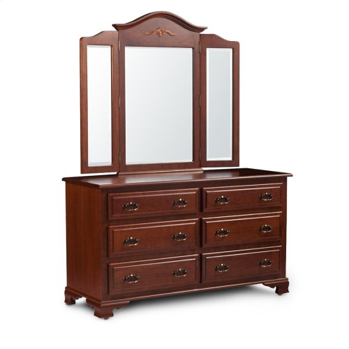 Classic 6-Drawer Dresser, Medium