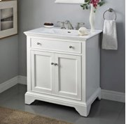 "Framingham 30"" Vanity - Polar White Product Image"
