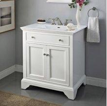 "Framingham 30"" Vanity - Polar White"