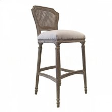 Chelsea BAR Stool- Cane Back