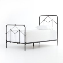 Twin Size Black Finish Casey Bed
