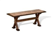 Savannah Side Bench w/ Cushion Seat Product Image
