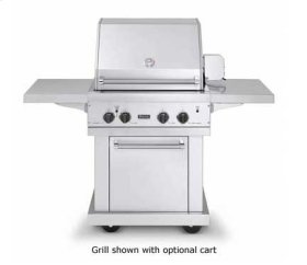 "Stainless Steel 30"" Ultra-Premium E-Series Grill - VGBQ (30""W. E-Series with two standard 25,000 BTU burners (LP/Propane))"