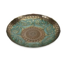 Paisley Glass Bowl